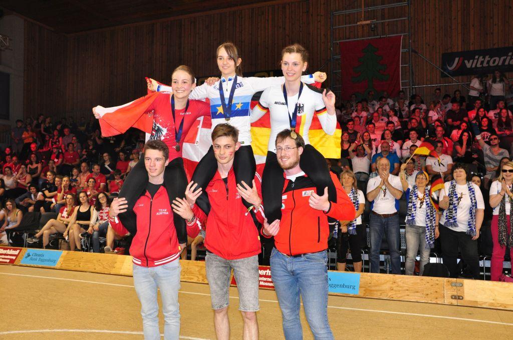 Junioren EM Titel für Julia Walser